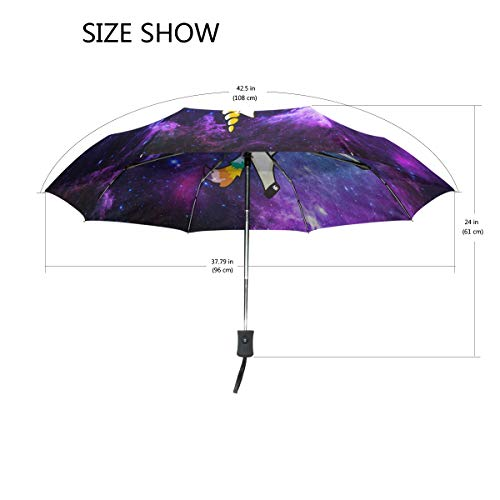 Amazon.com : Wamika Funny Unicorn Auto Umbrella Open Close Windproof Travel Lightweight Parasol Umbrella Sun Rain : Garden & Outdoor