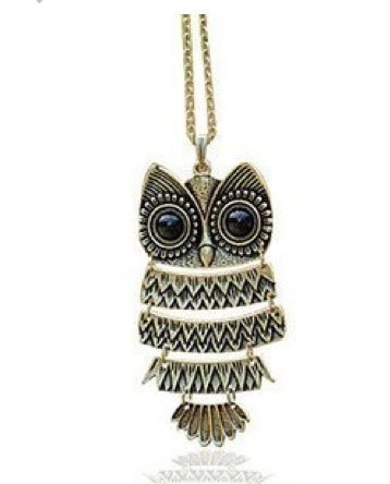 Buy glitz fashion long chain owl pendant necklace for womenher glitz fashion long chain owl pendant necklace for womenhergirlsmother aloadofball