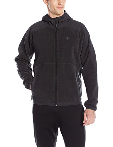 champion-mens-hooded-textured-fleece-jacket-stealth-medium