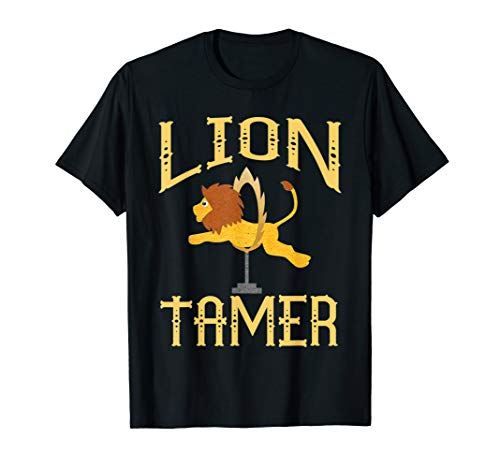 Circus Lion Tamer Shirt - Lion Tamer Costume  T-Shirt -