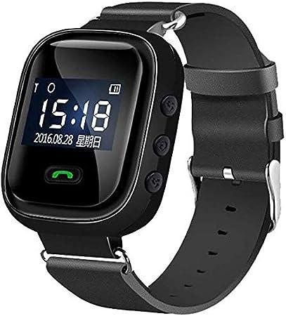 CHENGL Reloj del GPS como una Emergencia, PM Inteligente para Mayores posicionamiento perdido Anti GPS, teléfono de Emergencia SOS configuración de la Tercera Edad Emergencia