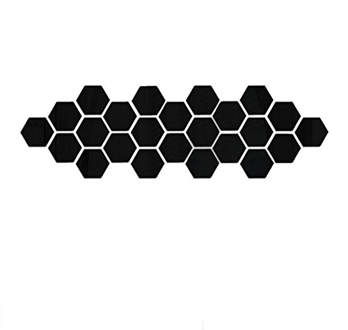 IEason Wall Stickers Clearance Sale! 12Pcs 3D Mirror Hexagon Vinyl Removable Wall Sticker Decal Home Decor Art DIY (Black)