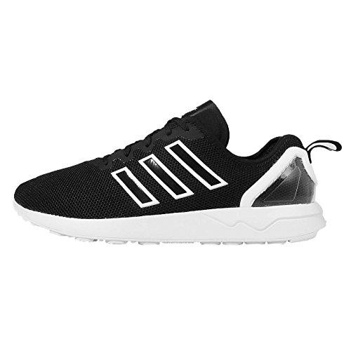 Sneakers für Schwarz Weiß adidas Erwachsene ZX Low Flux Fortgeschrittene Top Unisex f00YawOgq1