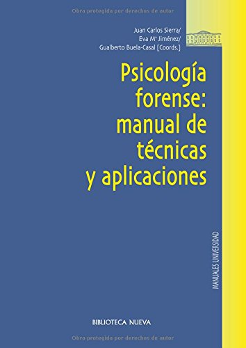Psicologia forense: manual de tecnicas y aplicaciones