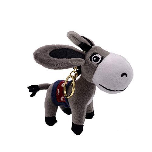 Amazon.com: TREGIA - Llavero de peluche con diseño de ...