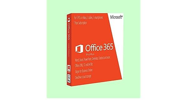 microsoft office pro plus 2016 mac