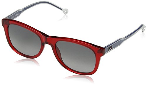 Tommy Hilfiger Th1501s Rectangular Sunglasses, RED, 49 ()