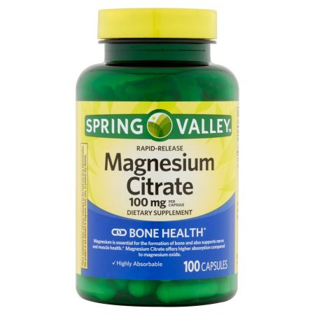 Top recommendation for magnesium citrate rapid release