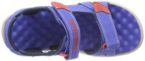 Row 2 J45 nebulas Unisex Mules Niños Blue strap Timberland Azul Perkins 7pqn5