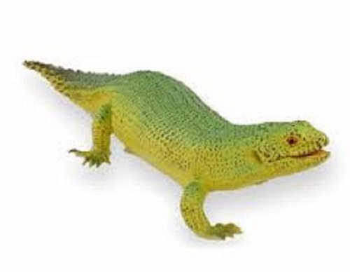 Spiny Tailed Skink Lifelike Rubber Replica 9 Inch Reptile by MameJo