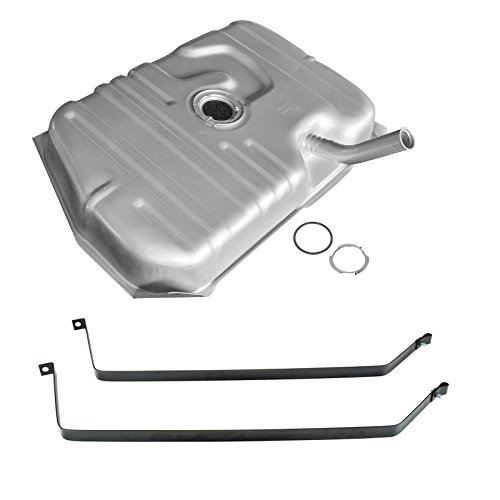 Cutlass Gas Fuel Tank - Fuel Gas Tank 17 Gallon w/Strap Set for Oldsmobile Cutlass & Supreme RWD