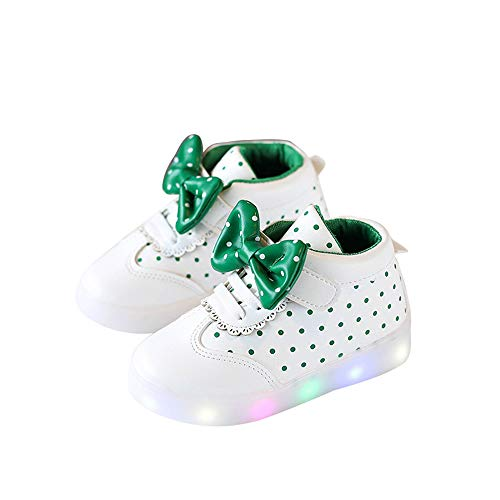 edv0d2v266 Led Light Shoe Baby Toddler Shoes Kids LED Children Toddler Light up Trainers Lace up Luminous Shoes