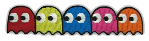 Pac-Man Video Game Ghosts Pinky Blinky Inky
