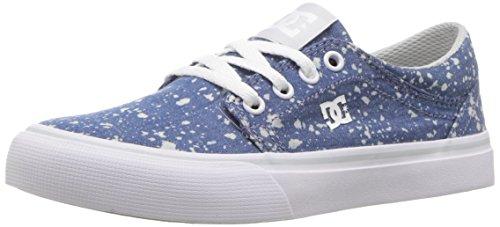 DC Youth Trase TX SE Skate Shoes Sneaker, Denim, 11 M US Big Kid ()