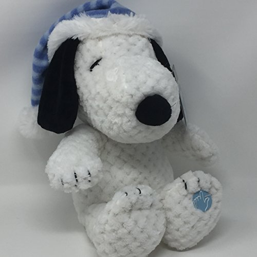 Snoopy Animated Musical Christmas Plush - Lights Up and Plays Jingle Bells, We Wish You a Merry Christmas and Deck the (Charlie Light)