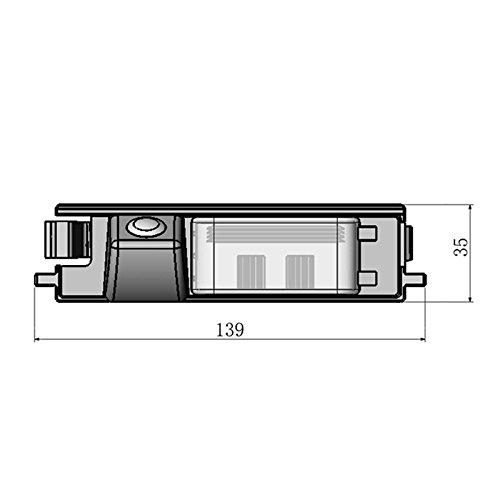 for Toyota RAV4 RAV-4 RAV 4 2006~2012 Car Rear View Camera Back Up Reverse Parking Camera//Plug Directly