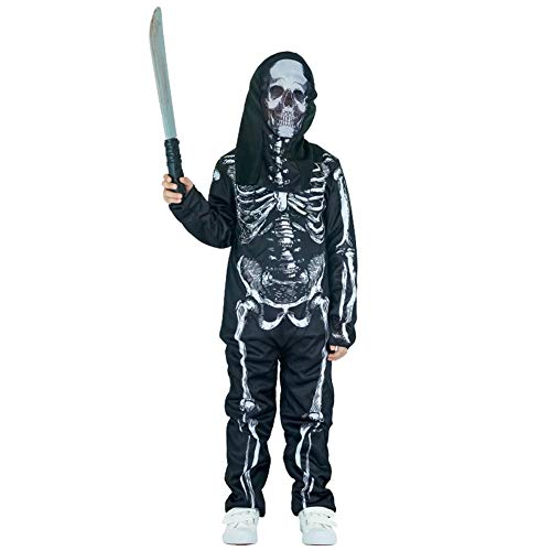 Country-living Boys Halloween Clothes Funky Punk Skeleton
