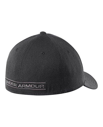 Under Armour Men's Closer Stretch Cap, Black/Charcoal/Black, Large/X-Large