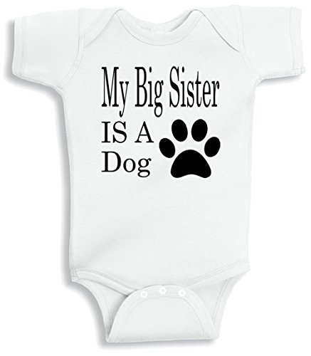 Lil Shirts Sister Baby Bodysuit product image