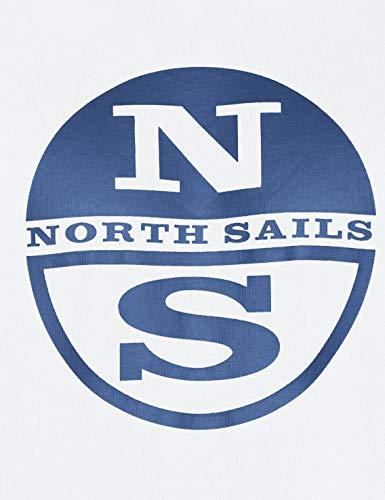 Uomo Sails Bianco white 0101 North Felpa 1A8xqnw6