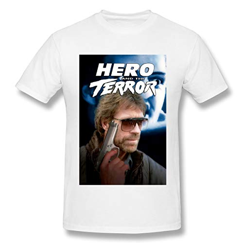 BTBANIN Hero and The Terror Mens Avant-Garde Shirts 3XL White
