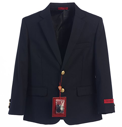 Gioberti Little Boys Formal Navy Blazer Jacket, Size 6
