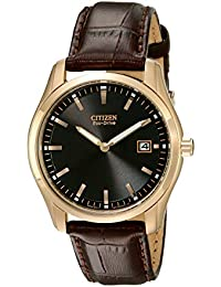 Men's Eco-Drive Stainless Steel Watch, AU1043-00E