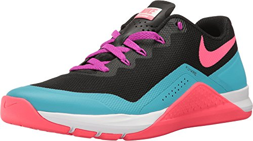 Racer Boot (Nike Metcon Repper D Black/Racer Pink/Chlorine Blue Womens Cross Training Shoes)