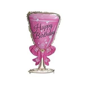 WINOMO Party Globos Champagne Whiskey Vino Cup Botella Forma ...