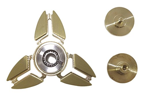 NEW 2017 ORIGINAL DRAGON SPINNER Trio Brass Metal Hand Fidget Spinner Toy EDC Luxury Helps You Focus And Reduce Stress