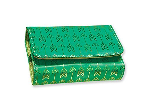 Fashion Smart Pill & Vitamin Case, Metallic Jade Dart, One Size by Fashion Smart