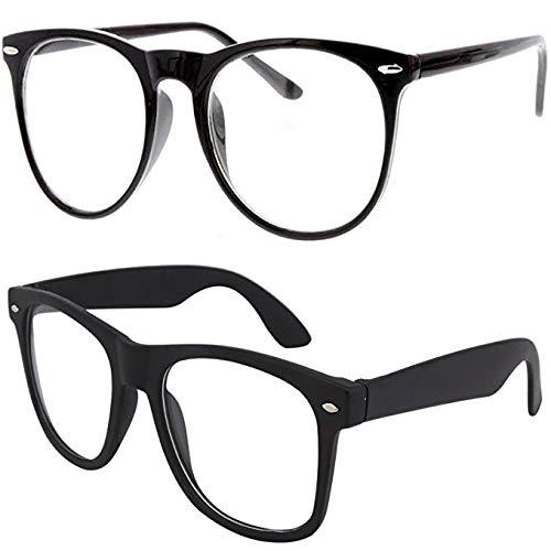 188eacb44ab Sheomy UV Protected Non-Polarized Wayfarer Unisex Sunglasses(Black  Transparent Wayfarer