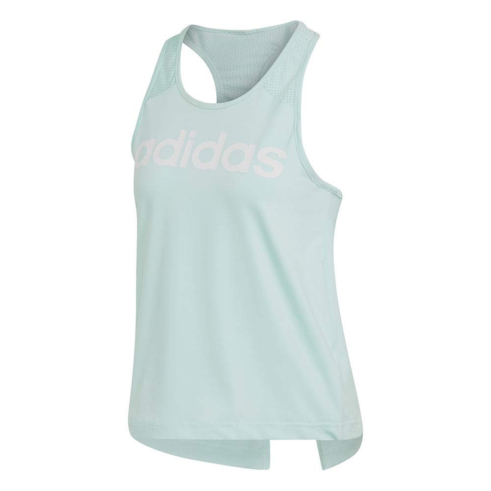 adidas Designed-2-Move Logo Tank Top Clear Mint 2 MD by adidas