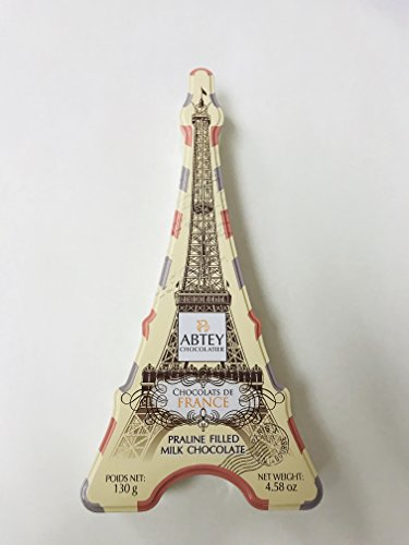 Milk Praline (Abtey Chocolate Pralines Milk Balls Tour Eiffel Collectors Tin)