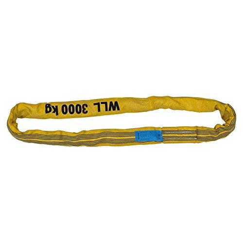 Petex 47203019 eslinga Wll 3.000 kg, longitud 1 m, del Enví o 2 m, amarillo longitud 1m del Envío 2m Petex Autoausstattungs GmbH