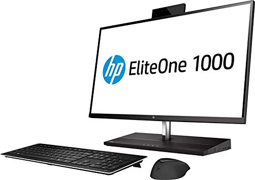 HP EliteOne 1000 G2 Envy 27 4K UHD Desktop 4TB SSD 32GB RAM (Intel Core i7-8700 processor 3.20Ghz TURBO to 4.60GHz, 32 GB RAM, 4 TB SSD, 27