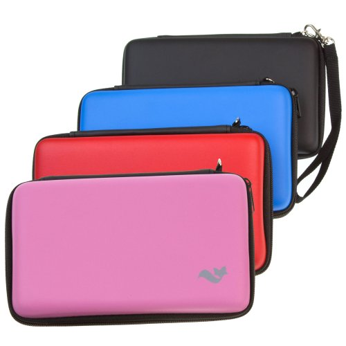 ButterFox Deluxe 12-in-1 Accessory Travel Pack / Case For the New 3DS XL Console: Blue (Nintendo 3DS XL)