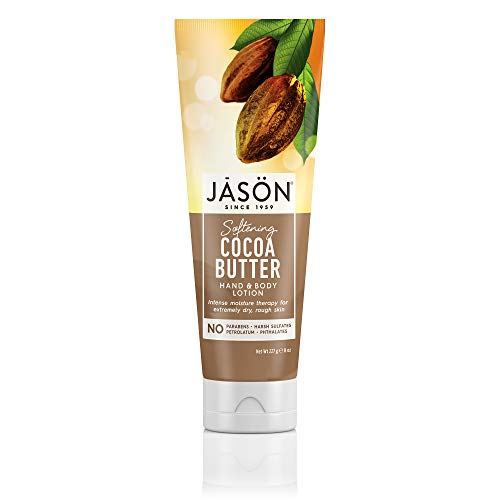 (JASON Softening Cocoa Butter Hand and Body Lotion, 8 Ounce Bottle)