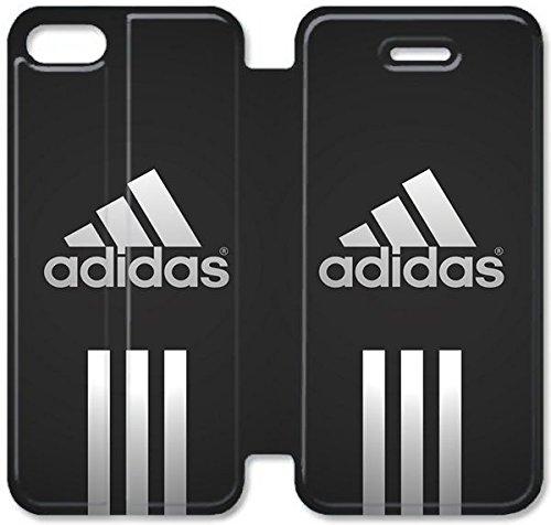Flip étui en cuir PU Stand pour Coque iPhone 5 5S, bricolage 5 5S cellulaire Phone Coque Case Logo V1D1HM Coque Case coutume personnalisé