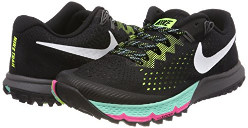 volt blanc hyperturquoise Terra Uomo Running Scarpe Zoom 4 Kiger Nero Air noir Nike 7Oxavv