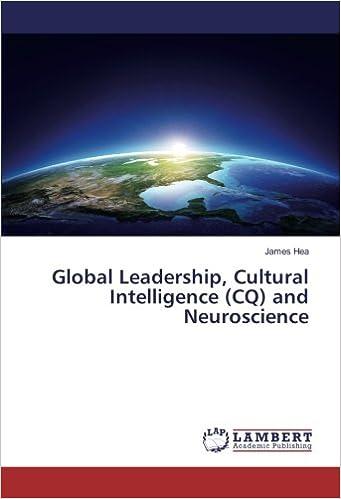 Descargar Torrent El Autor Global Leadership, Cultural Intelligence (cq) And Neuroscience Infantiles PDF