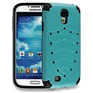 Godlike-Fashion Shield Pattern TPU and PC Hard Case for Samsung Galaxy S4 /I9500 (Assorted Colors)