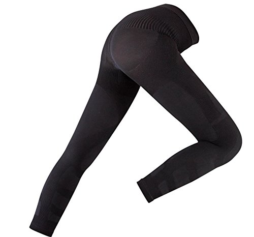 7fbbab06752f6 Amazon.com: Recovery Compression Tights 2.0-20-30 mmHg Seamless Leg, UV  Protection,Moisture Wicking Compression Tights for Running,Compression  Socks for ...