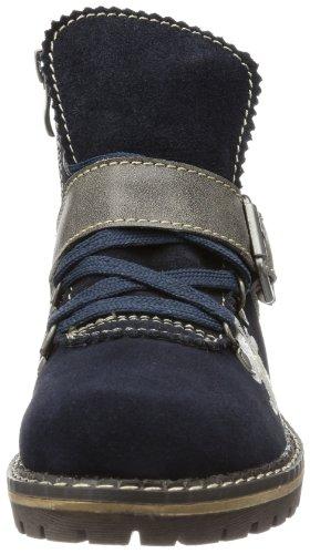 Andrea Conti 0614298 - Botines de cuero mujer azul - Blau (dunkelblau 017)