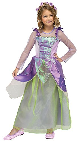 Fun World Costumes Baby Girl's Pretty Princess Costume, Purple, X-Large(4-6) for $<!--$15.96-->