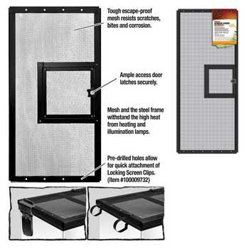 RZIL DOOR SCREEN COVER 30x12'' by Coralife