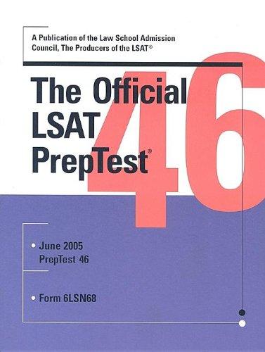 The Official LSAT PrepTest 46