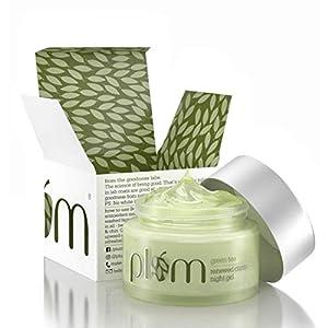Plum Green Tea Renewed Clarity Night Gel | Normal, Oily, Acne-Prone, Combination Skin | Night Cream For Women…