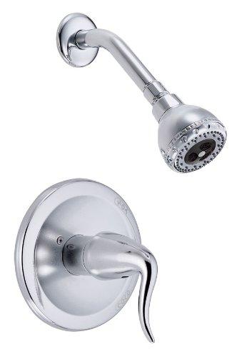 Danze D500521T Antioch Single Handle Shower Only Faucet Trim Kit, Chrome (Valve Not Included)
