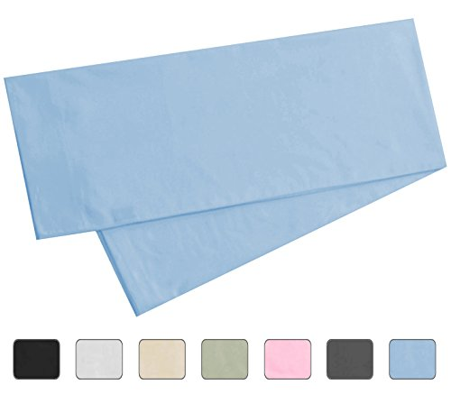 light blue body pillow case - 2